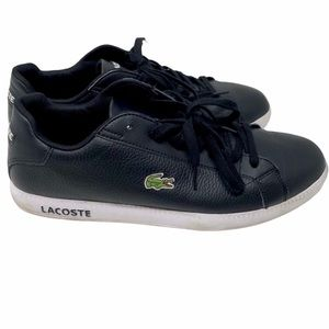 LACOSTE BLUE LACE UP SHOES